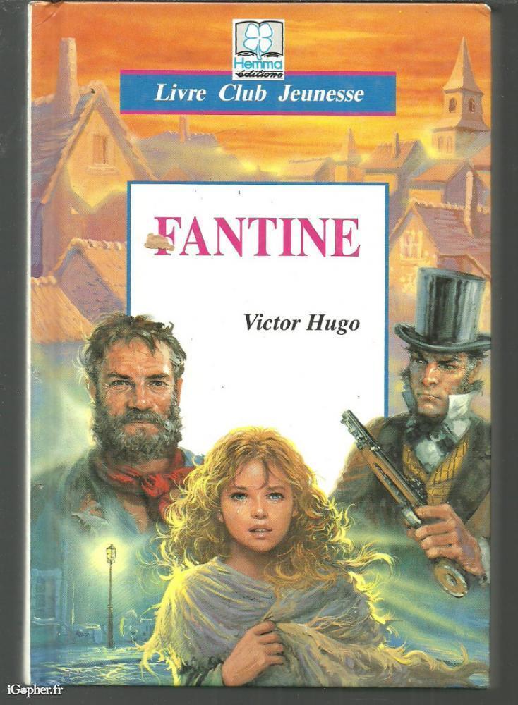 Livre Fantine Victor Hugo