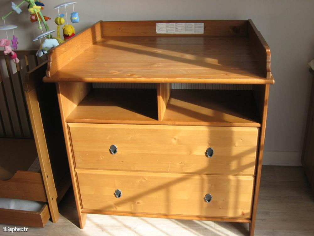 Table langer commode ikea leksvik - Ikea bebe table a langer ...