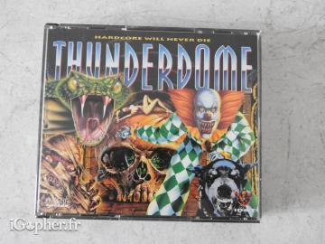 CD audio Thunderdome Hardcore : will never die