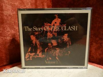 CD audio : The Clash - The story of the Clash