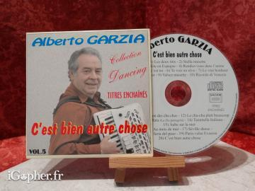 CD audio Alberto Garzia (volume 5)