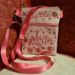 Pochette Seattle rose (bandoulière)