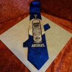 Cravate Gold City Absolut Vodka