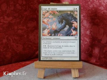 Carte Magic the Gathering : Cage de mains