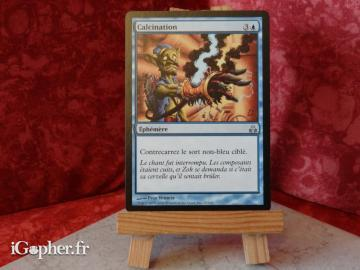 Carte Magic the Gathering : Calcination