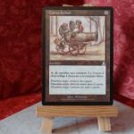 Carte Magic the Gathering Canon à Chair (2 versions)