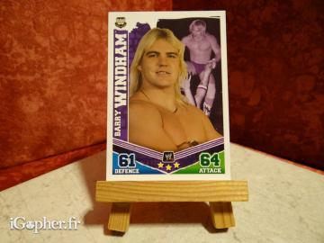 Carte de catch Barry Windham