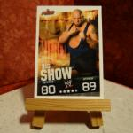 Carte de catch Big Show (80-89)