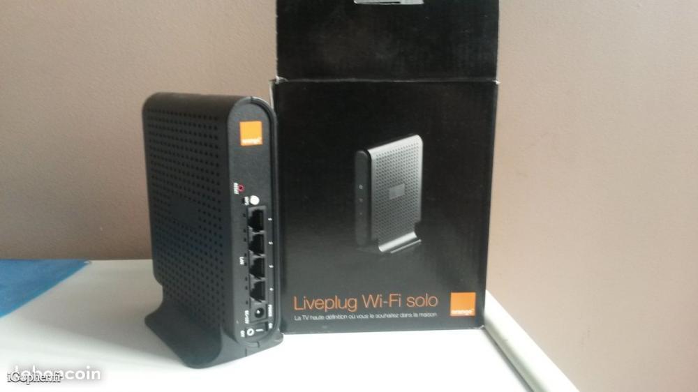 liveplug wifi solo orange. Black Bedroom Furniture Sets. Home Design Ideas