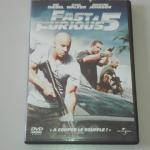DVD : Fast and furious 5