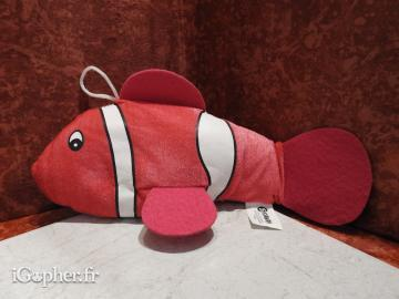 Peluche Poisson Clown Sandy N°7