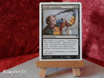 Carte Magic the Gathering : Balafre cérébrale (2 versions)