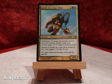 Carte Magic the Gathering : Garde du corps rhox