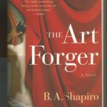 Livre en anglais : The art forger (B. A. Shapiro)