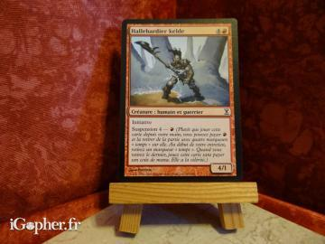 Carte Magic the Gathering : Hallebardier kelde