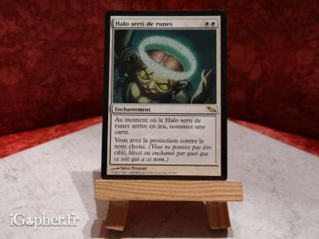 Carte Magic the Gathering : Halo serti de runes