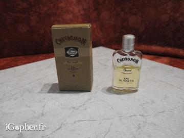 Miniature parfum Chevignon for men
