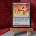 Carte Magic the Gathering : Départ de flammes