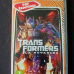 Jeu PSP : Transformers La Revanche
