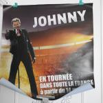 Poster Johnny Hallyday tournée 2013