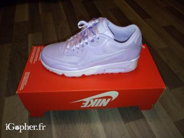 latest fashion factory authentic run shoes Baskets Nike Air Max 90 Lilas (P38) - Neuf