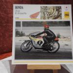 Lot de Fiches moto: Honda 125 RC 149 GP