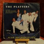 Vinyle 45T The Platters : Rock around the clock