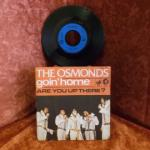 Vinyle 45T The Osmond Goin'home : Goin'home