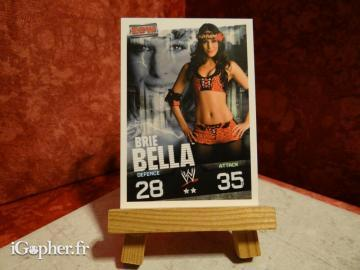 Carte de catch Slam Attax Brie Bella