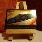 Carte de catch Slam Attax Intercontinental Championship