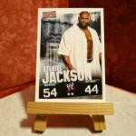 Carte de catch Slam Attax Ezekiel Jackson (N°2)