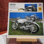 Fiche moto Vincent 500 Grey Flash (1951)