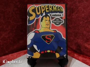 Dvd Dessin Animé Superman Volume 1 Igopher Fr