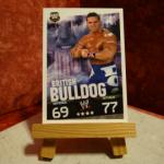 Carte de catch British Bulldog