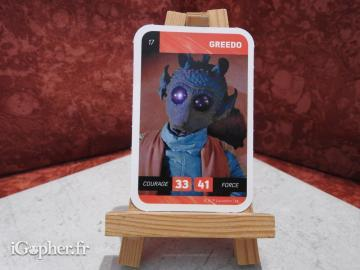 Carte Star Wars Greedo N°17