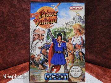 Jeu : The Legend of Prince Valiant (Super Nintendo - NES)