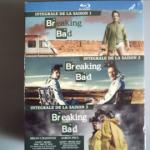 Blu-Ray de la série Breaking Bad (saisons 1, 2 et 3)