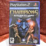 Jeu : Champions Return to Arms (PS2)
