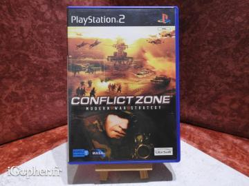 Jeu PS2 Conflict Zone Modern War Strategy