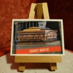 Carte de catch Casket Match (2 versions)