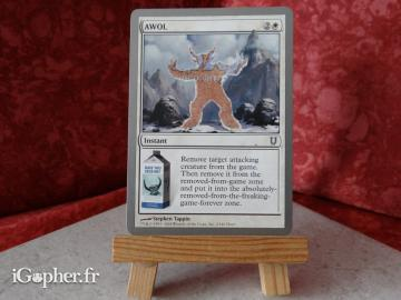 Carte Magic the Gathering : AWOL (Absent sans permission)