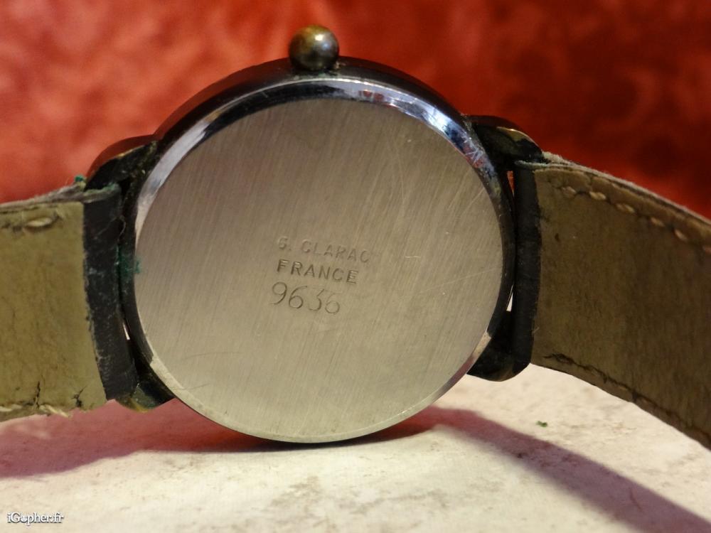 66618fb5c2 Montre quartz Guy Clarac. annonce dans Montres & Bijoux annonce dans Montres  & Bijoux