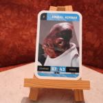 Carte Star Wars Amiral Ackbar N°8
