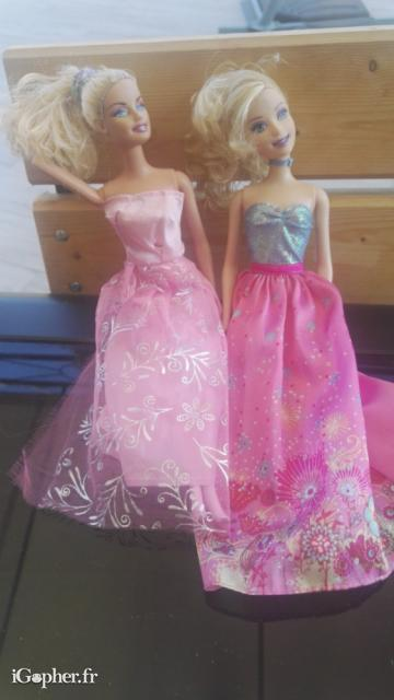 2 poupées Barbie d'occasion