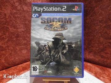 Jeu Socom U.S Navy Seals (PS2)