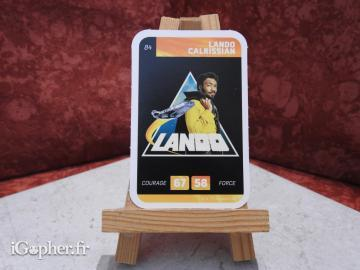Carte Star Wars Lando Calrissian N°84 (Leclerc)