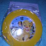 horloge disney roi lion simba - bonne idée cadeaux pour Noël
