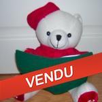 ours peluche noel - bonne idée cadeaux pour Noël