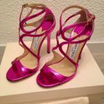 Idée cadeau Fête des Mères 2015 : Sandales Jimmy Choo - neuves